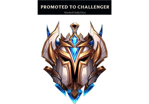 Promoted to Challenger